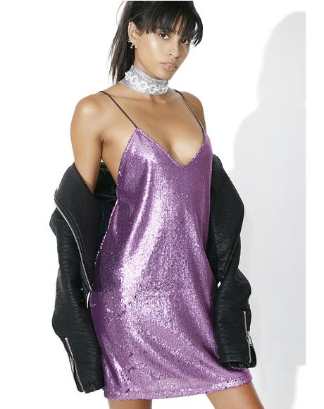 Amethyst Valley Slip Dress