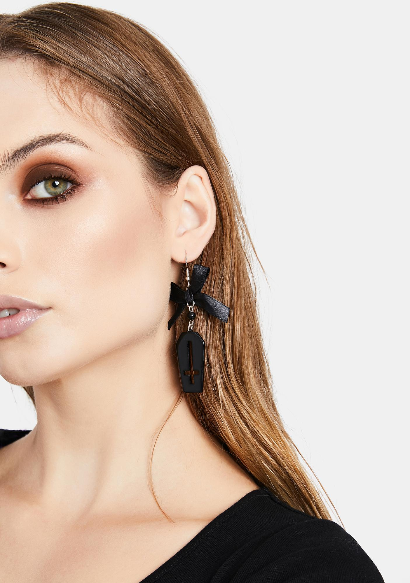 To The Tomb Drop Earrings