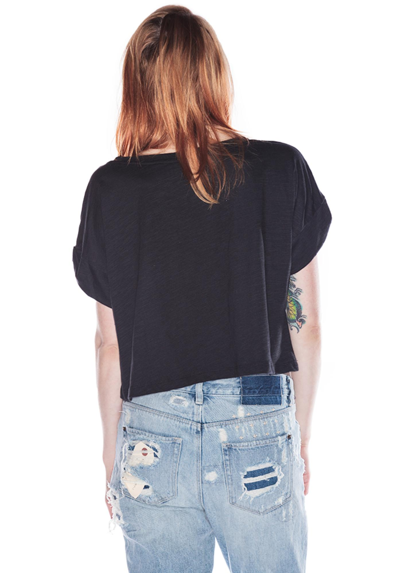 Civil Clothing Hardly Innocent Crop Tee