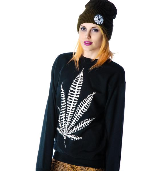 Corpse Corps Boards Weed Bone Sweatshirt