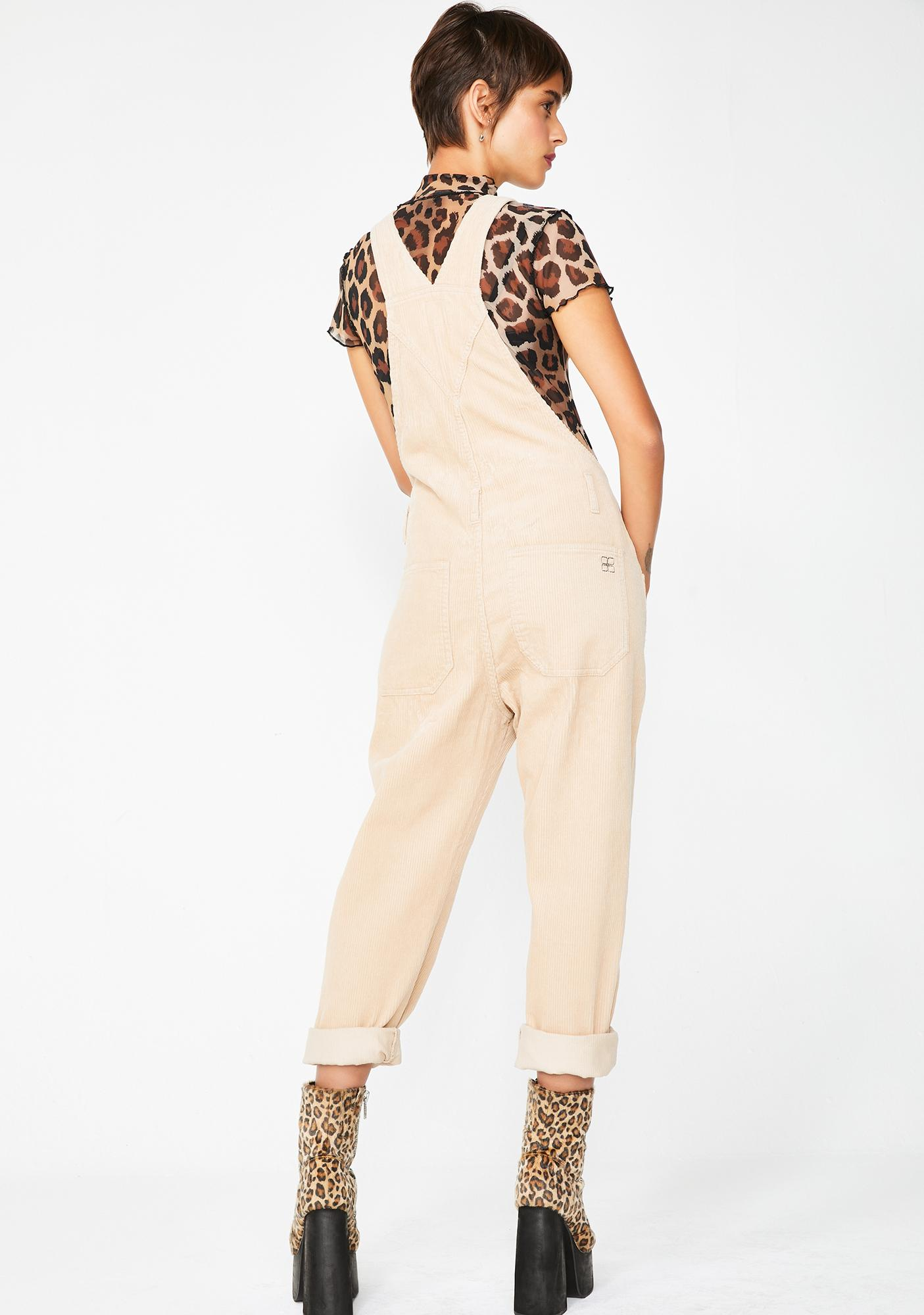 Insight Nelly Dungaree Cord Pebble