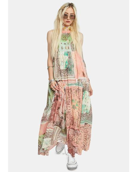 Bandana Rama Maxi Dress