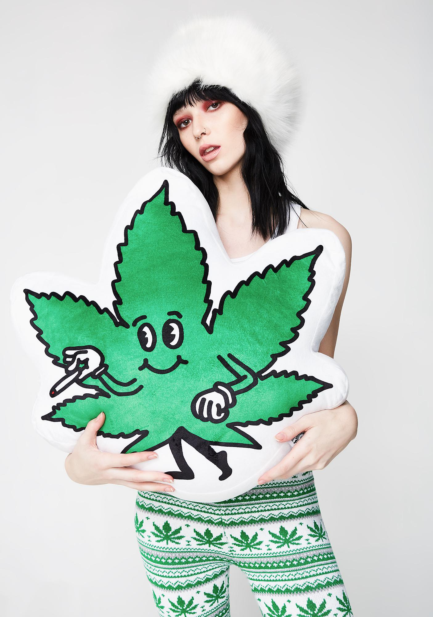 Weed Guy Pillow