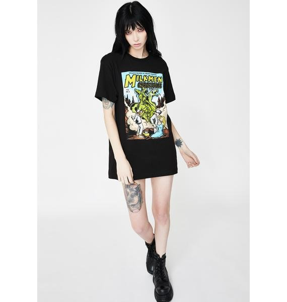 EXCLUSIVE DELIVERY CO. 3 Headed Beast Graphic Tee