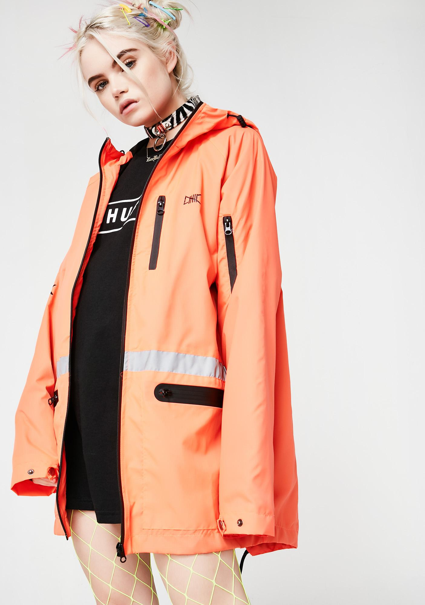 ETHIK Fire 3M Fishtail Windbreaker