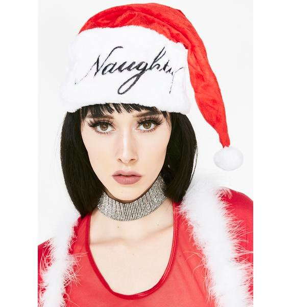 Naughty Or Nice Santa Hat