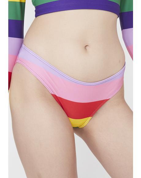 Rainbow Bikini Briefs