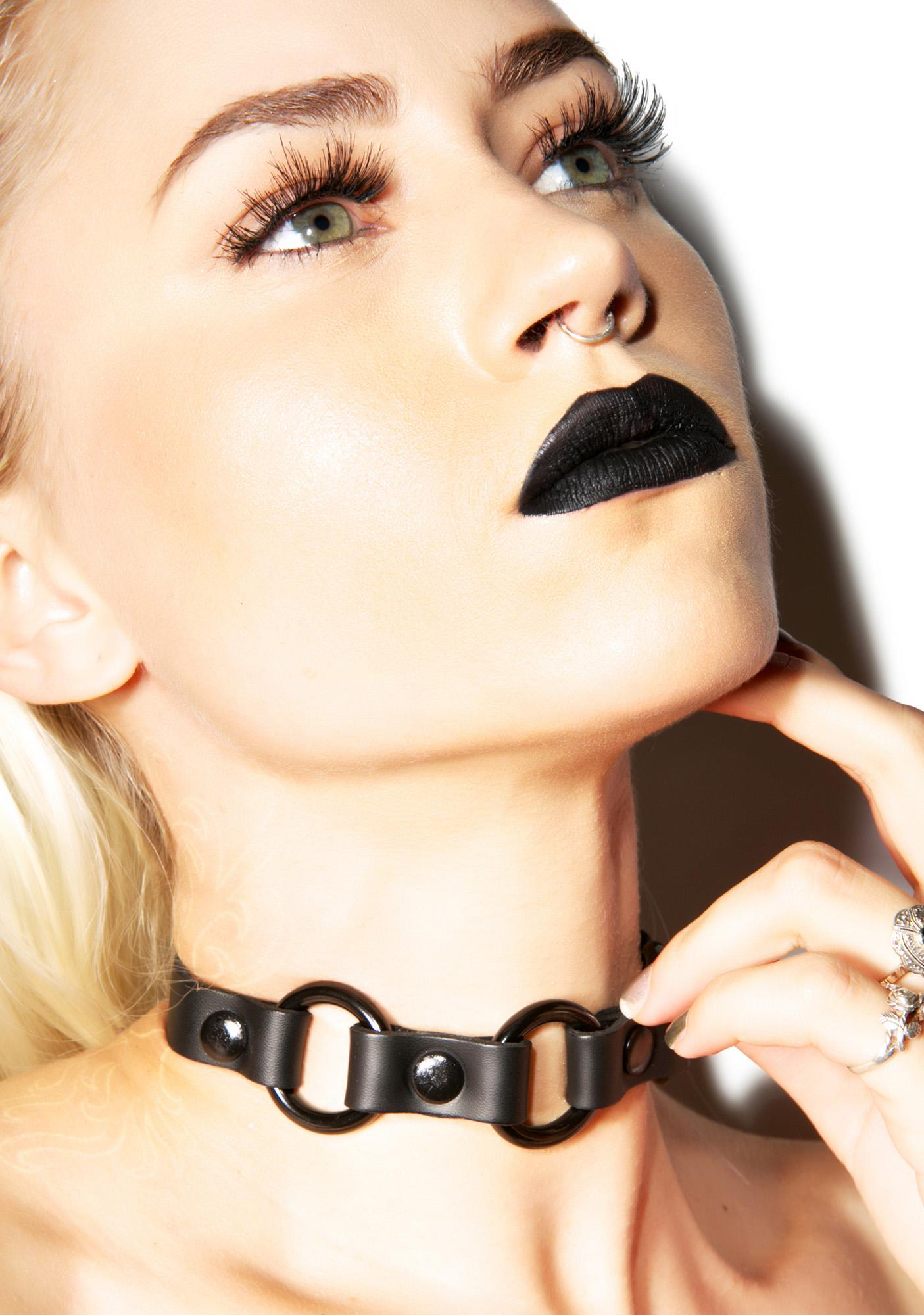 Club Exx Dark Souls Triple O Ring Choker