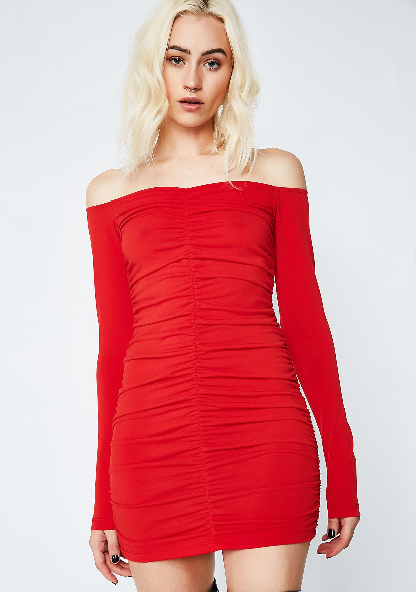 Motel Flame Azaela Dress