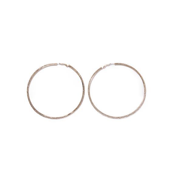 Make Em' Look Hoop Earrings
