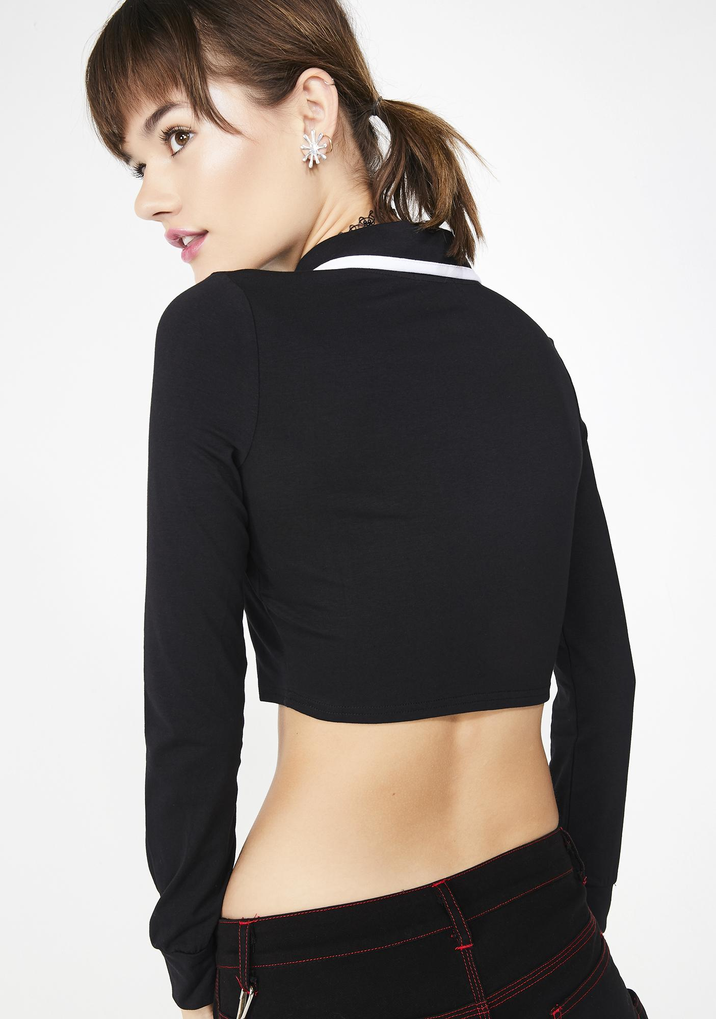 dELiA*s by Dolls Kill Laughing Matter Crop Top