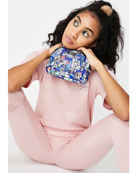 Crystal Kingdom Cosmetic Bag