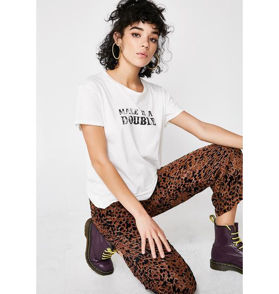Lira Clothing Double Graphic Tee