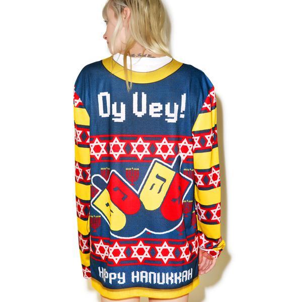 Mazel Tov Sweater Tee