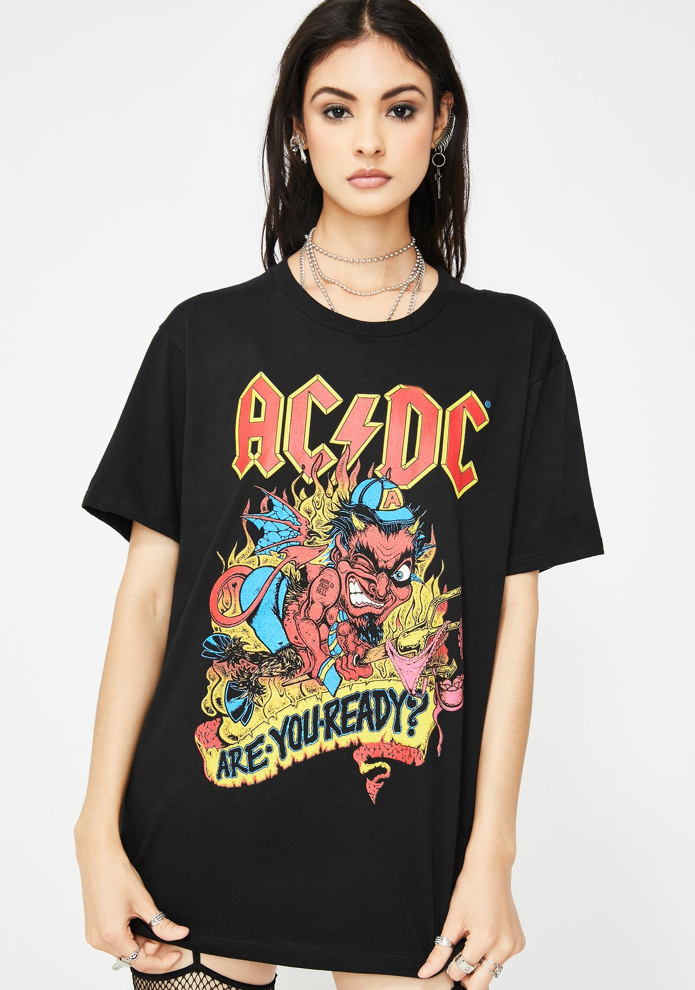 Goodie Two Sleeves Devil Angus Graphic Tee
