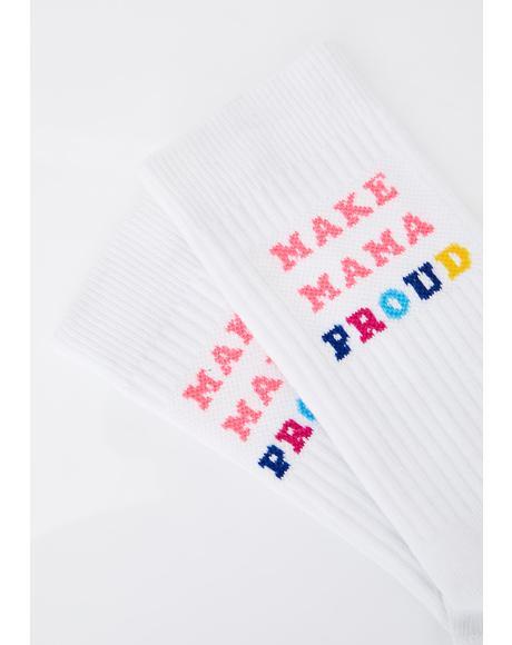 Mamas Day Crew Socks