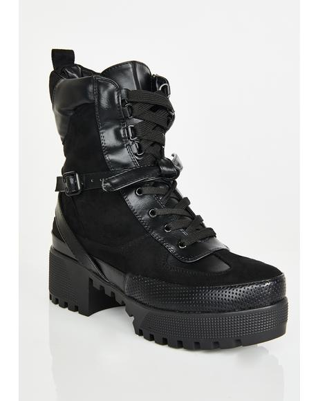Wicked Decline Platform Boots
