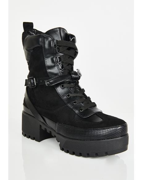 Wicked Decline Platform Boots