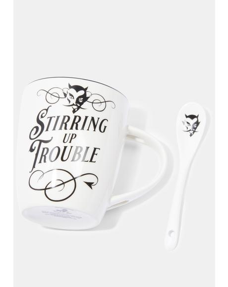 Stirring Up Trouble Mug