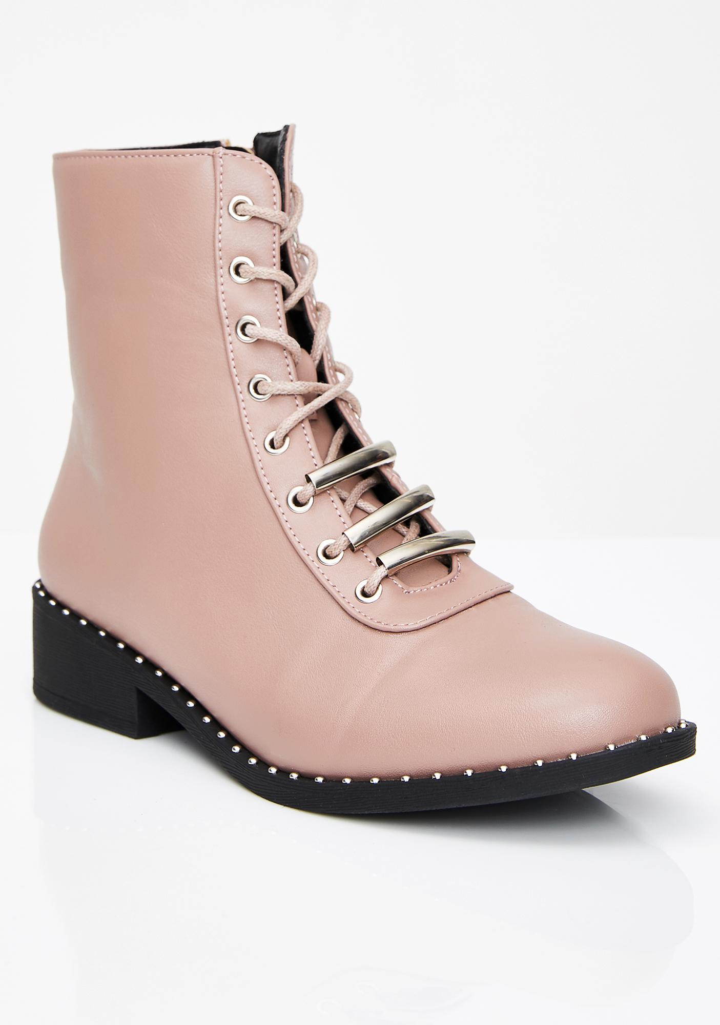 Sweet Bae Parade Combat Boots
