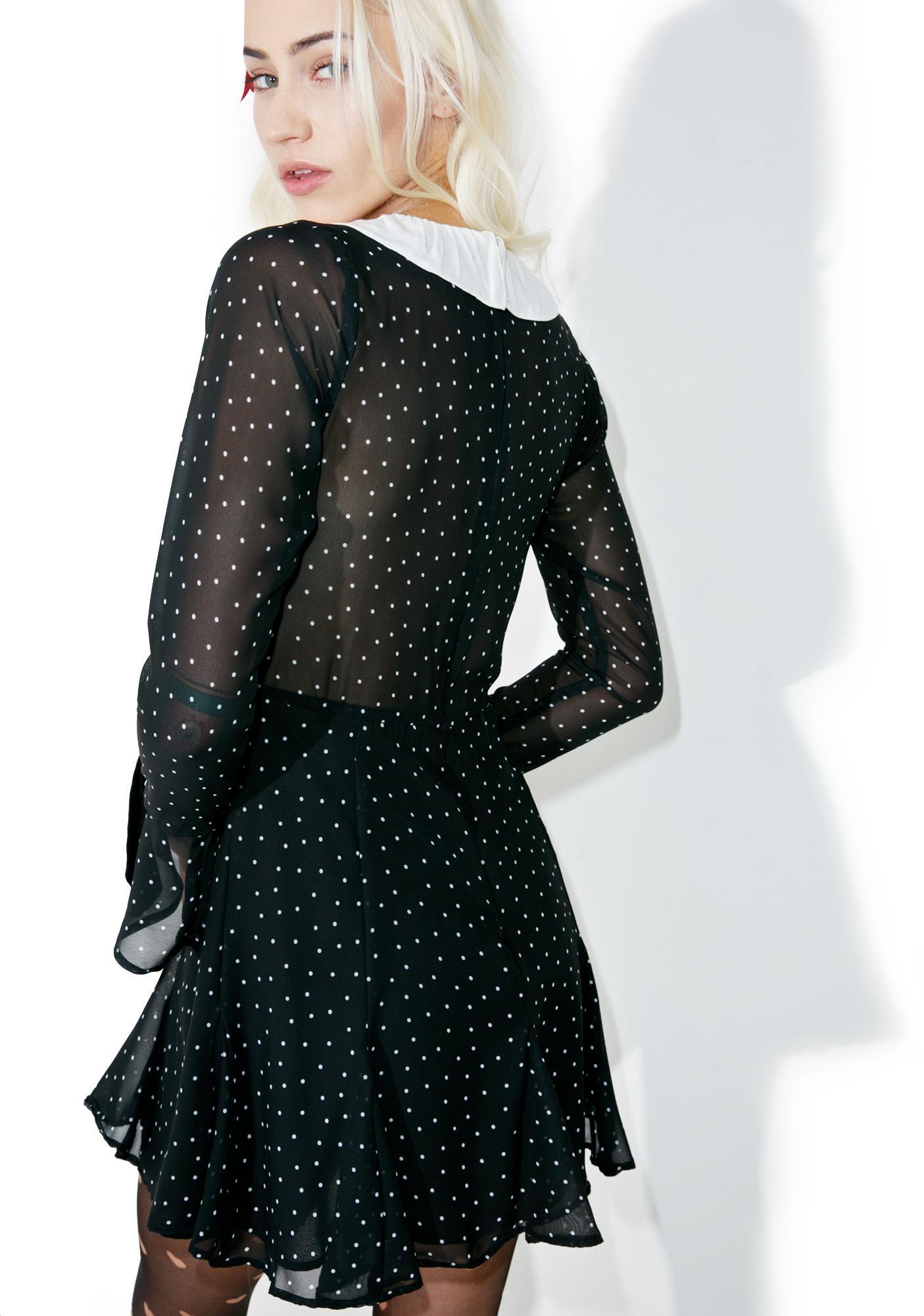 For Love & Lemons Bianca Mini Dress