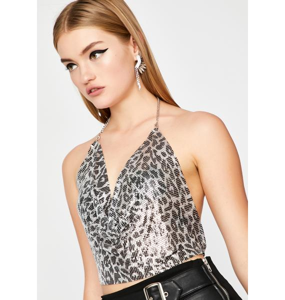 Felines And Frenemies Chainmail Top