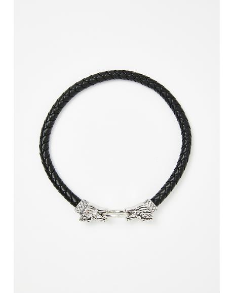 Enter The Baddie Dragon Choker