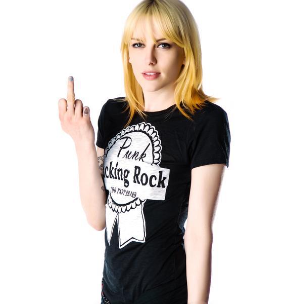 Too Fast Punk Fuckin Rock Tee