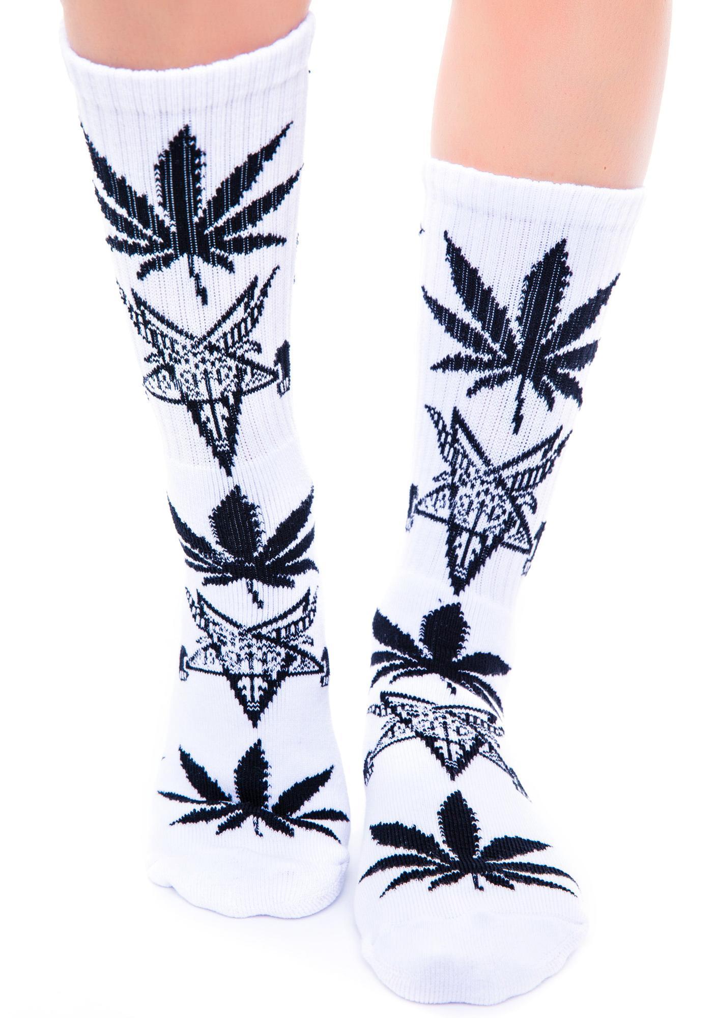 HUF x Thrasher Plantlife Socks