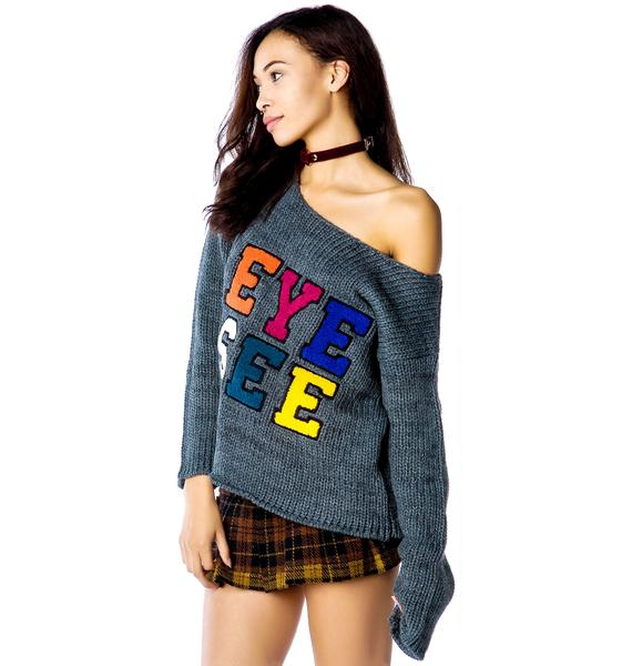 Insight You See Eye See Crew Sweater