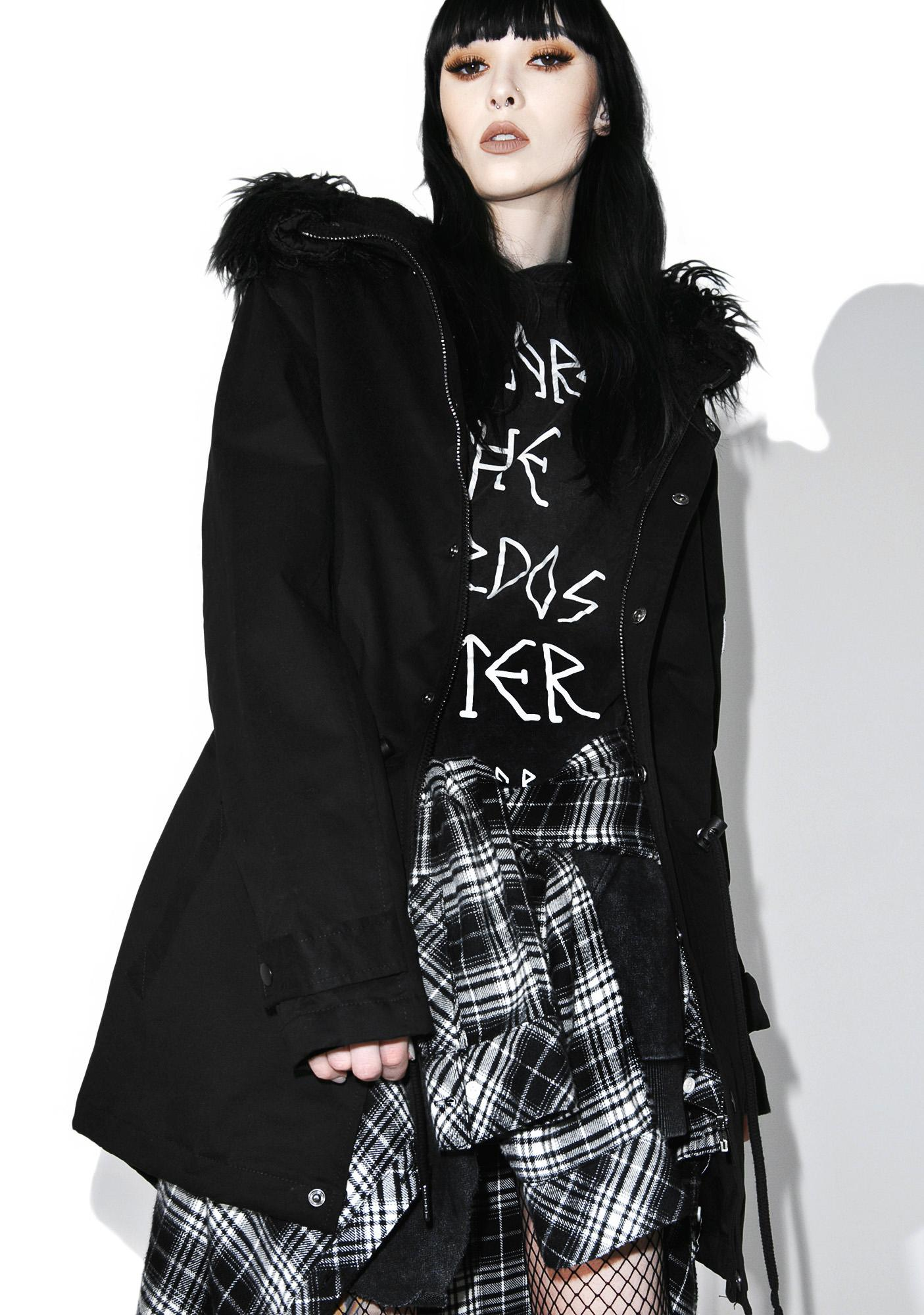 Killstar Nekropolis Parka Jacket