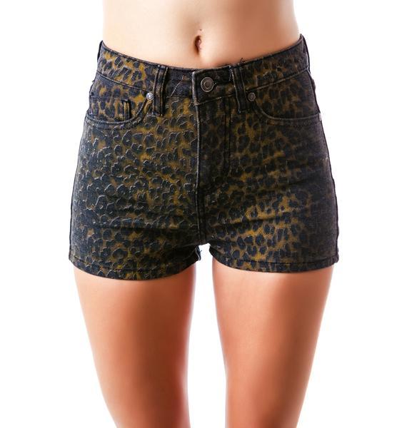 Lip Service Peg Bundy High-Waisted Shorts