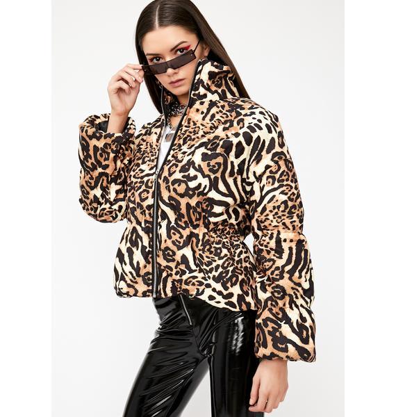 Savage Siren Puffer Jacket