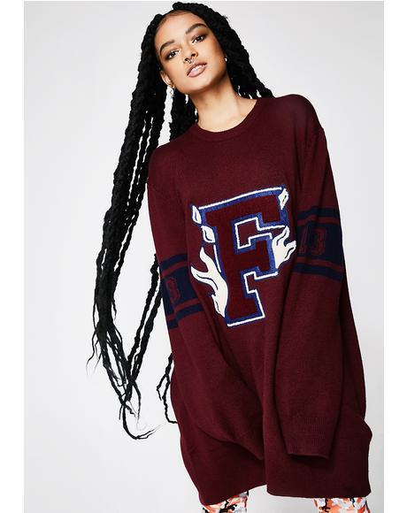 FENTY PUMA By Rihanna Varsity Letter Sweater