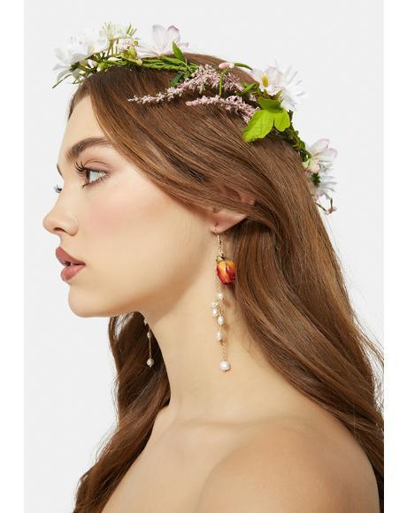 Greatest Treasure Resin Drop Earrings