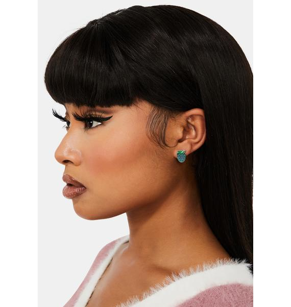 Strawberry Sass Mood Earrings