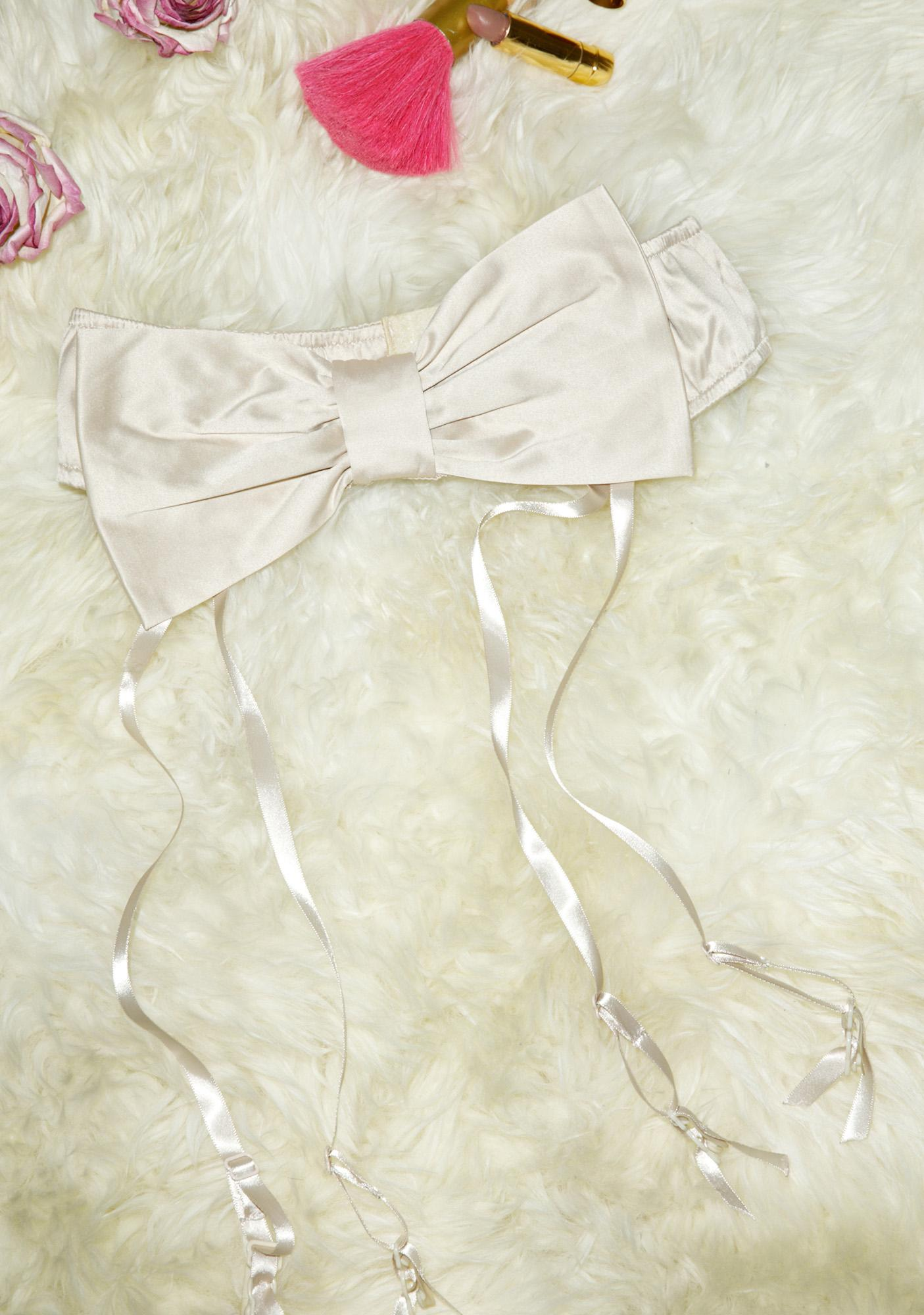 Fete Cupids Bow Garter