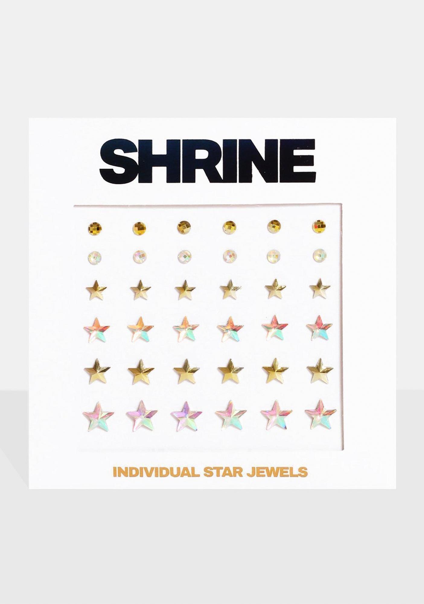 SHRINE Individual Star Face Jewels
