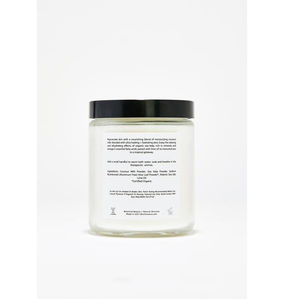 Birchrose + Co Coconut + Lime Bath Soak