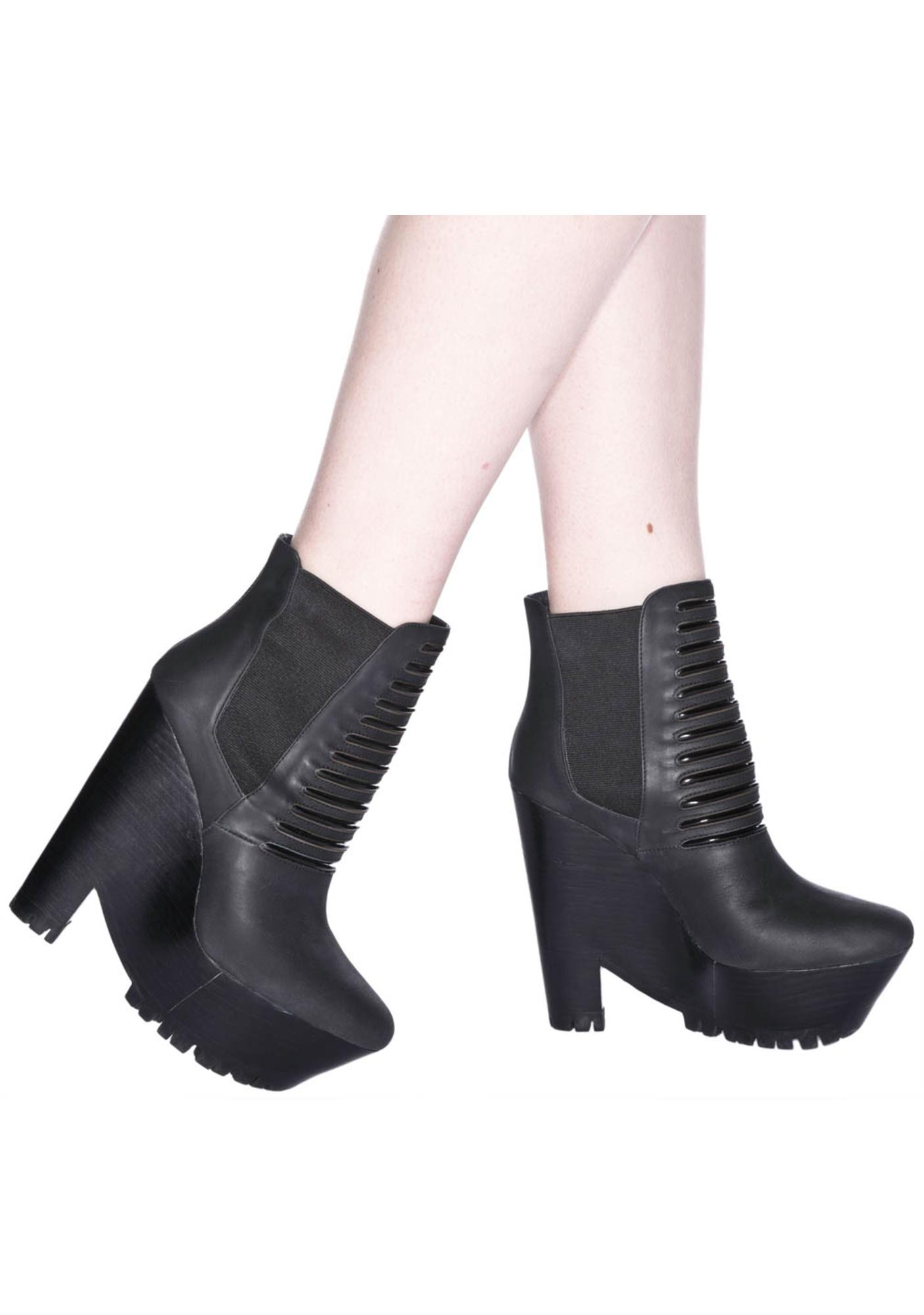 Messeca Bridgette Platform Booties