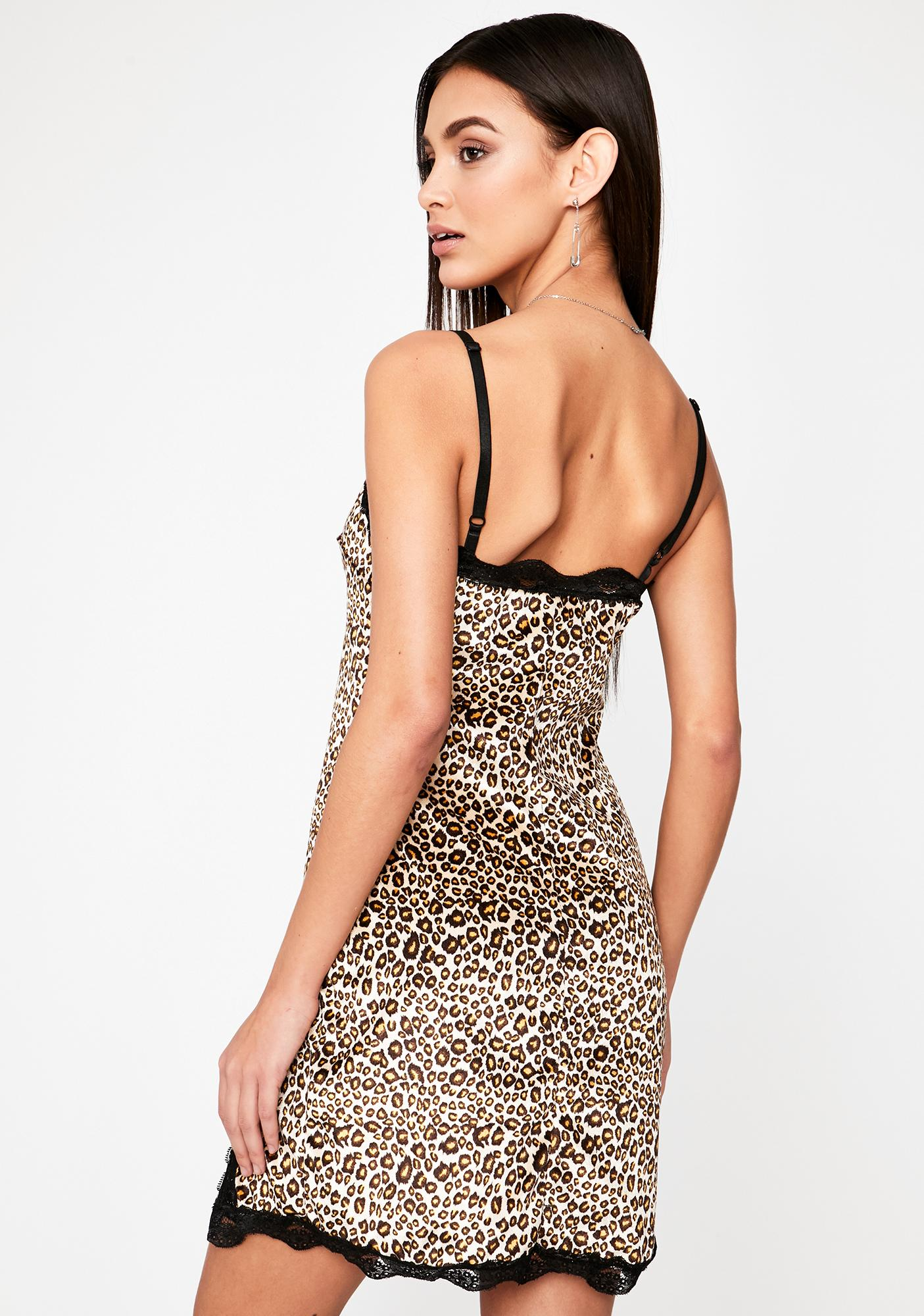 Ruthless Flirt Slip Dress