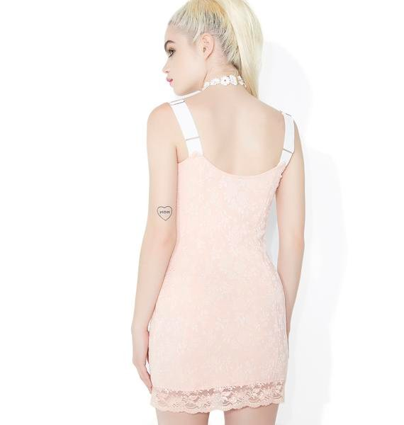 Sugar Thrillz Killer Queen Lace-Up Mini Dress