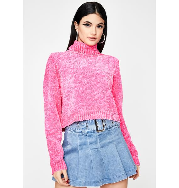 Sweet Soft Spot Cropped Sweater