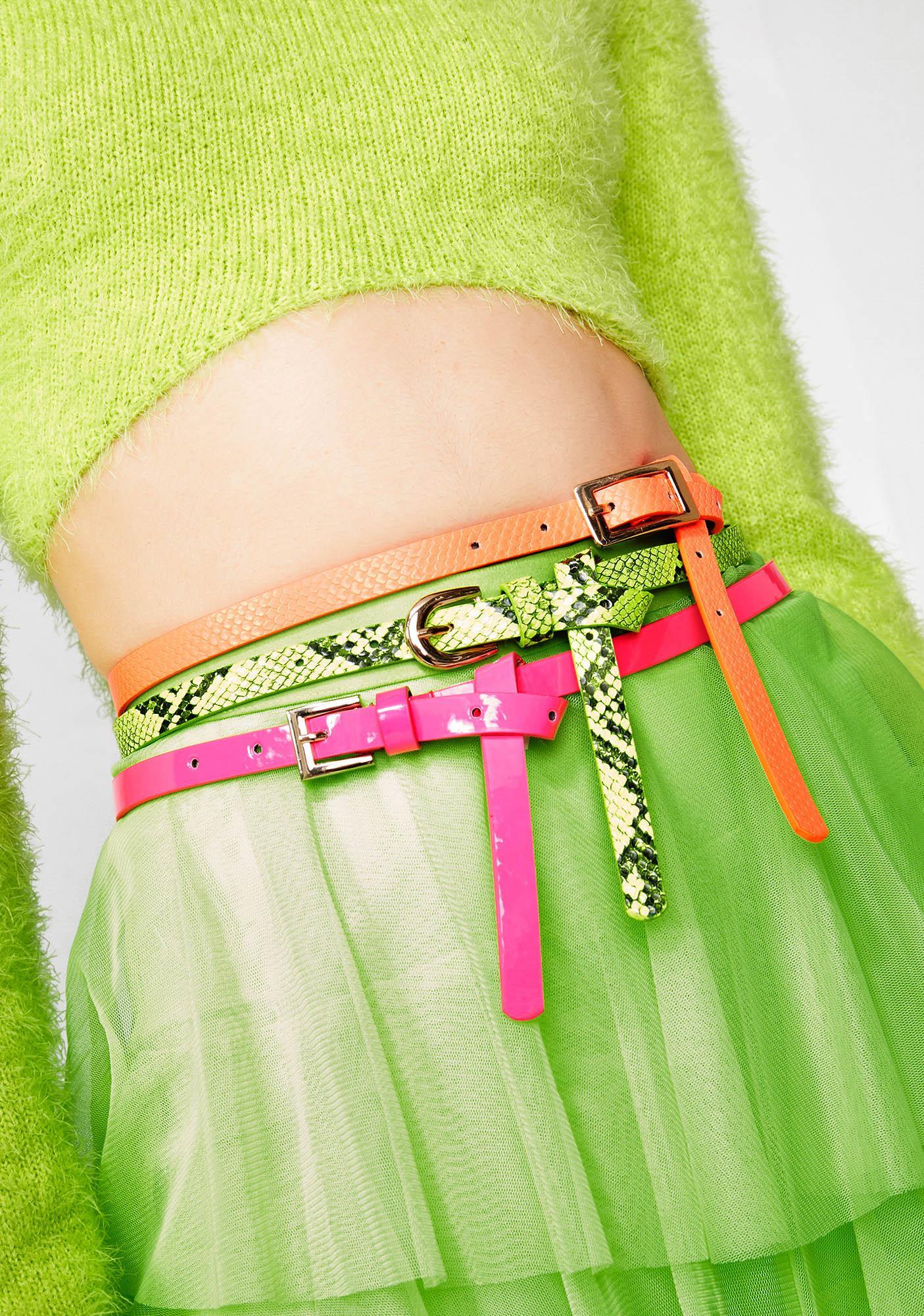 Electro Desires Belt Set