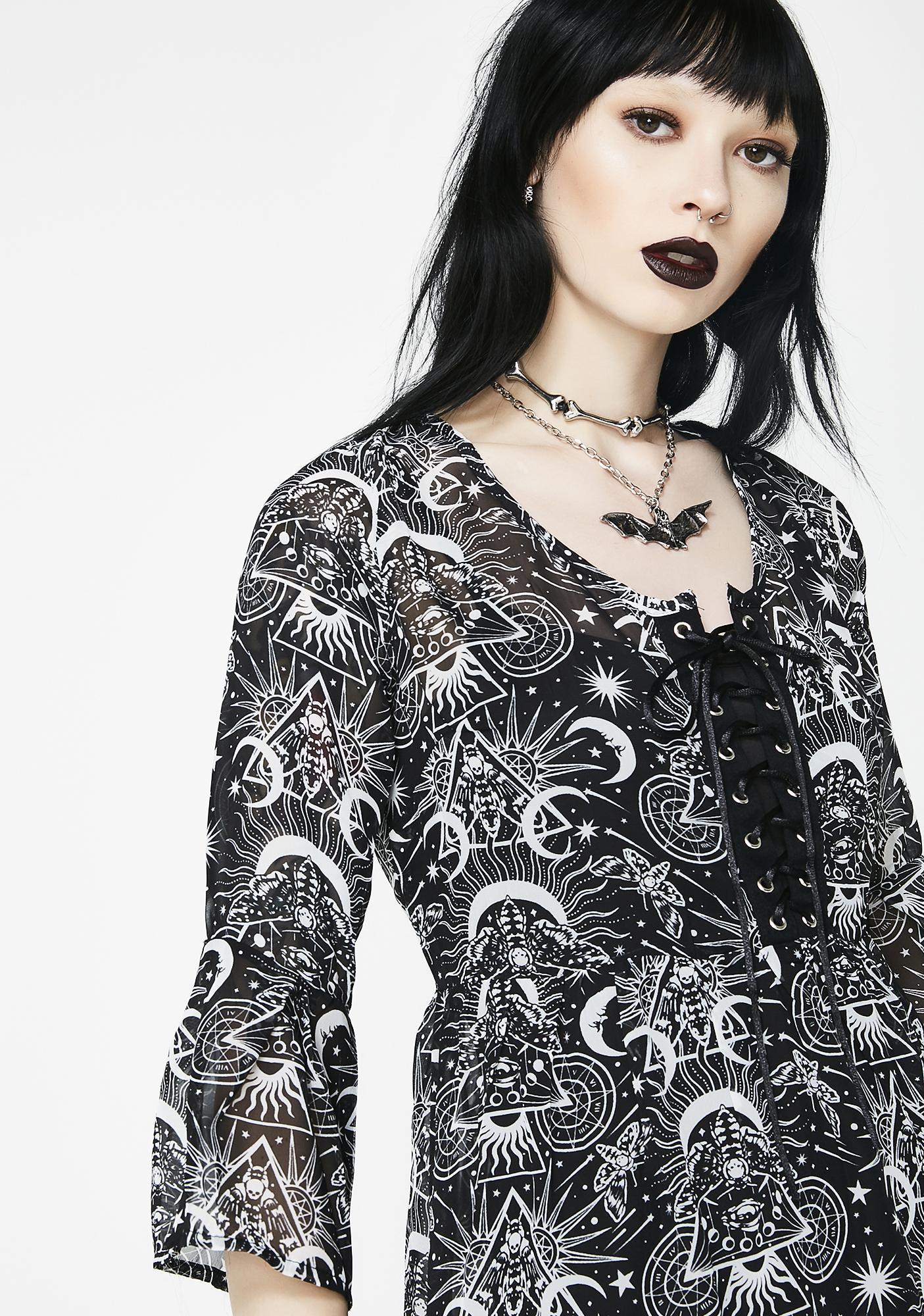 Killstar New Moon Babydoll Dress