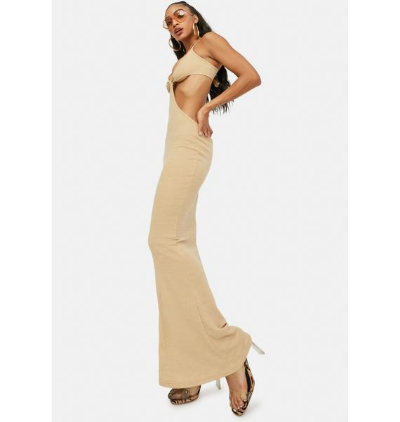 Check My Style Cut Out Maxi Dress