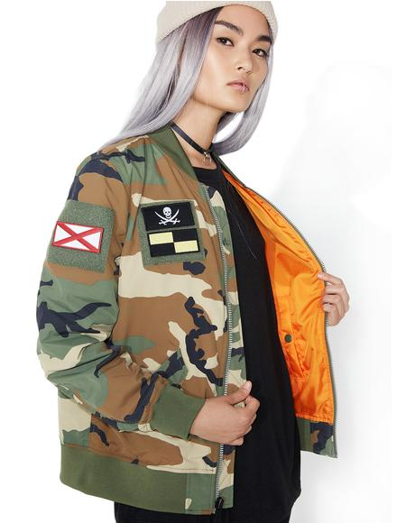L-2B Flex Camo Flight Jacket