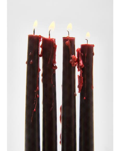 Vampire Tears Candlestick Set