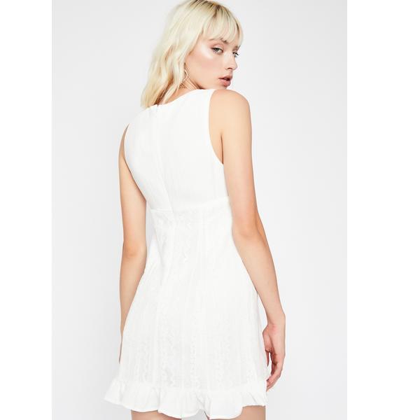 Angelic Being Mini Dress