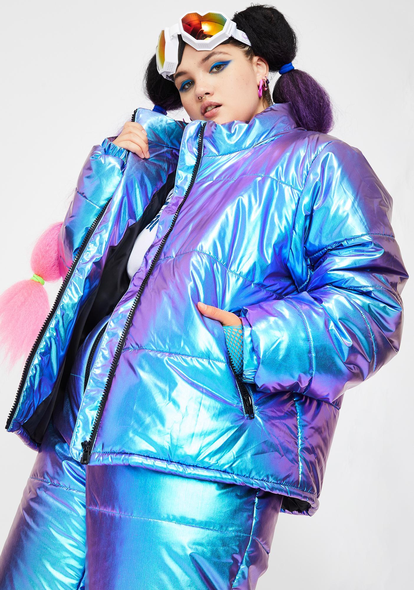 Club Exx Miss Space Bae Escapade Puffer Jacket